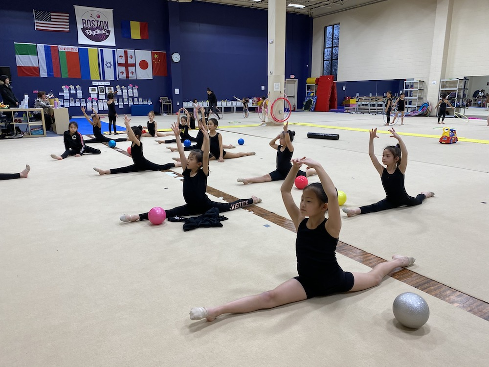gymnastics class inside of the gym in Watertown