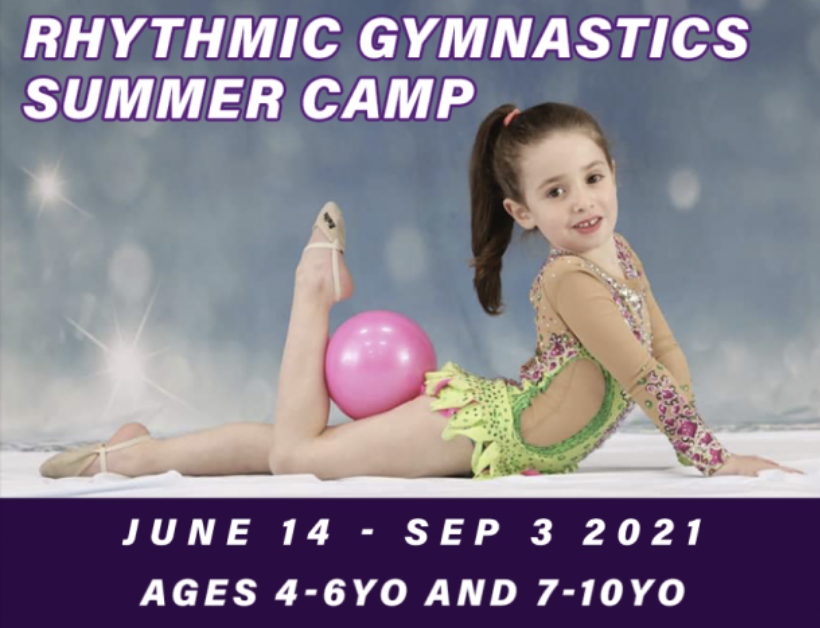 rhythmic gymnastics, summer camp, gymnastics camp